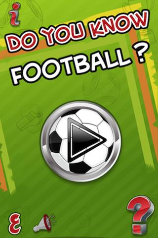 Do you know Football ? - screenshot