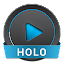 NRG Player Holo Skin 1.6b APK for Android