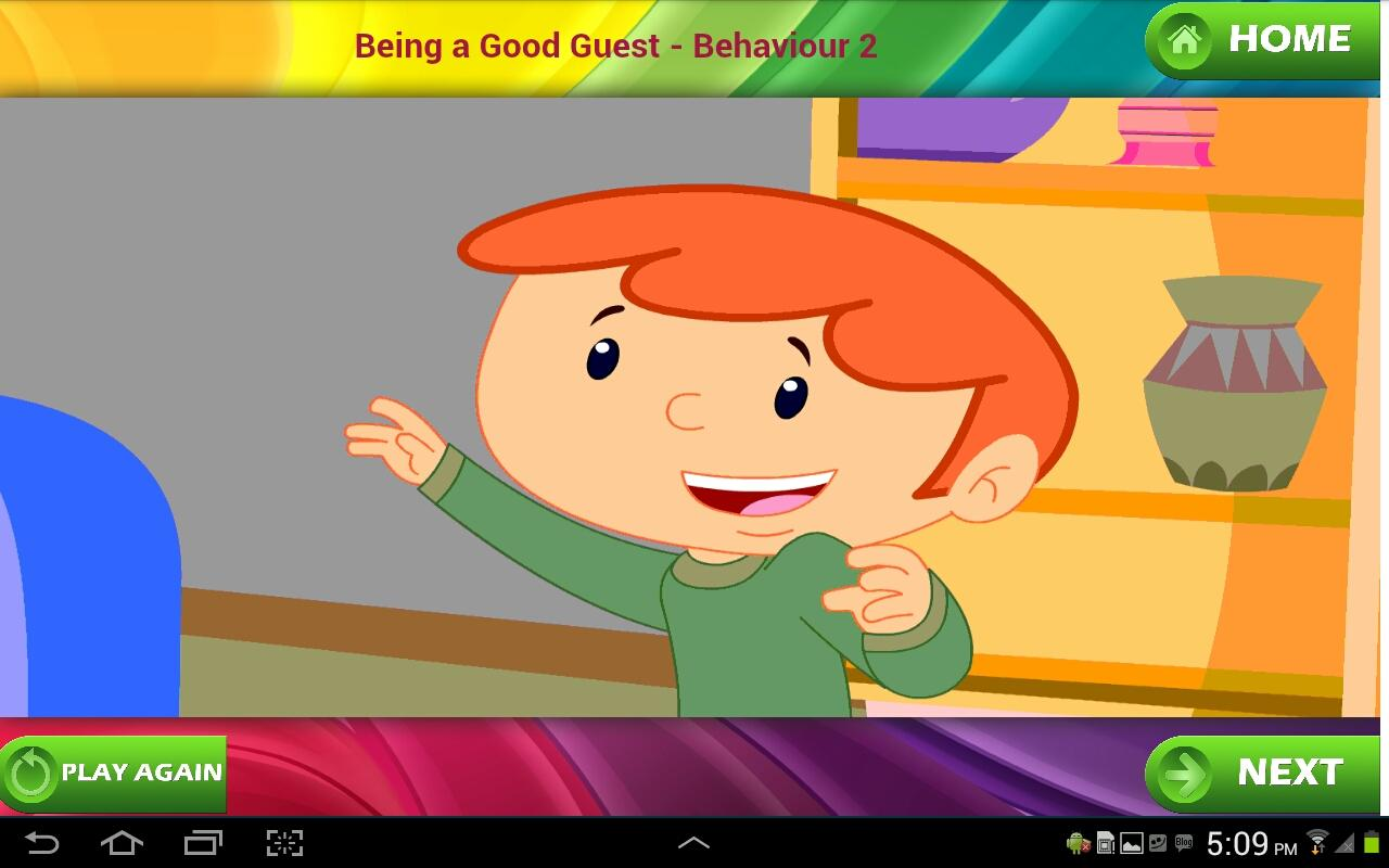Good Manners for Kids - screenshot