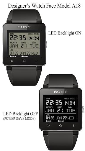 A18 WatchFace for SmartWatch2