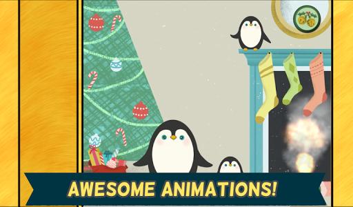玩教育App 耶誕節兒童遊戲-幼兒,男孩和女孩的高清酷聖誕老人,雪人鹿拼圖免費 APP試玩