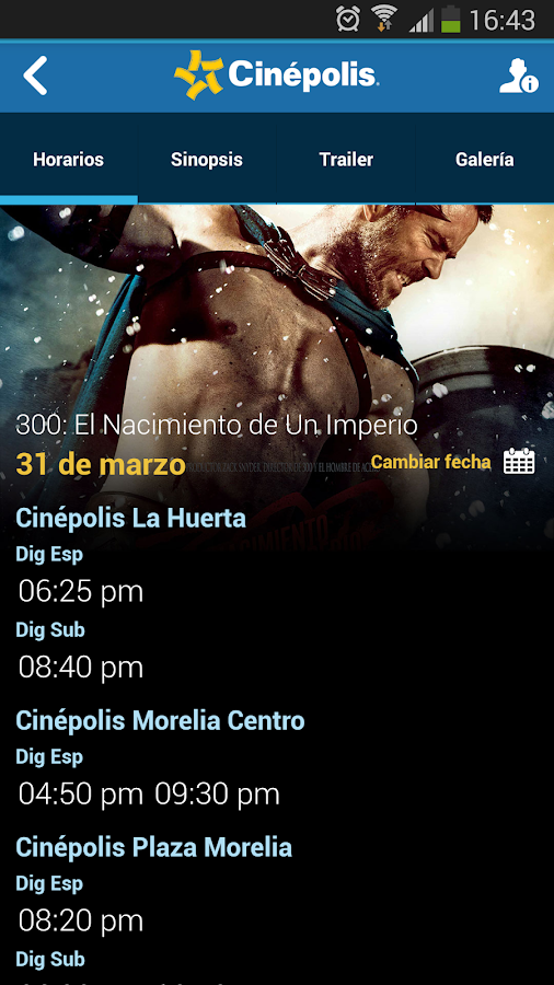 Cinépolis- screenshot