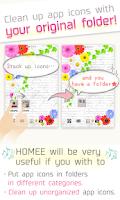 Screenshot of Homee launcher - cuter/kawaii