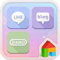 Simple Pastel Sky Dodol Theme icon
