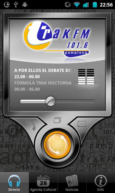 Trak FM- screenshot