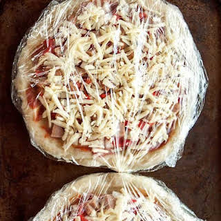 How to Make Homemade Frozen Pizza.