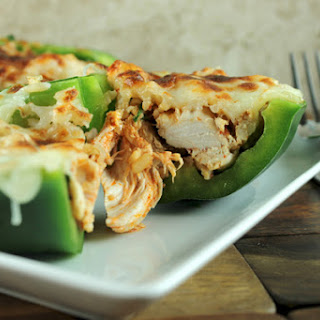 Stuffed Philly Chicken Peppers.