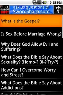Bible Answers Unbiased & UNCUT - screenshot thumbnail