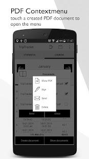 TripTracker - logbook - screenshot thumbnail