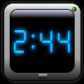 AdyClock - Night clock, alarm APK for Bluestacks