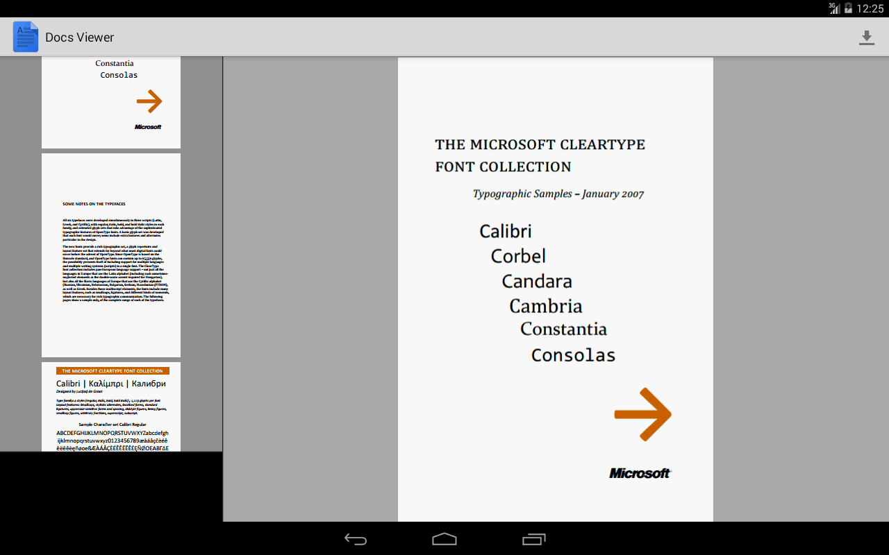 how to get google docs on android