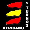 5 Turnos Africano Calendario icon
