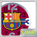 Barcelona FC Clock Widget icon