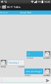 Wi-Fi Talkie FREE Screenshot 18