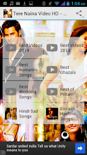 Top Hindi Songs Video HD 2014 - screenshot thumbnail