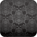 vintage damask wallpaper ver64 icon