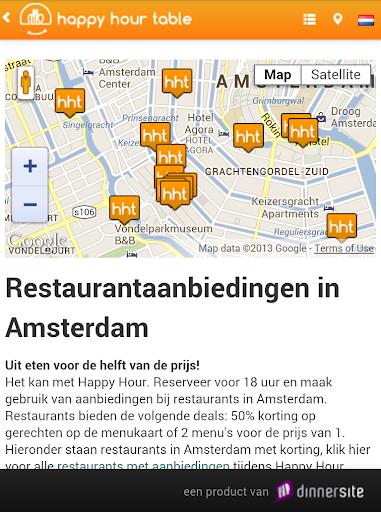 HappyHourTable restaurantdeals
