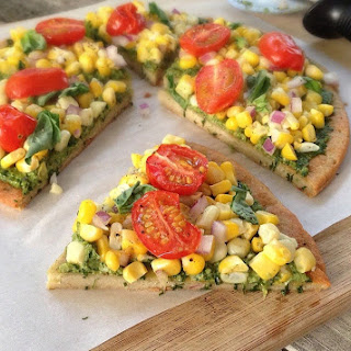 Gluten-Free Quinoa Pizza Crust and Vegan Pizza