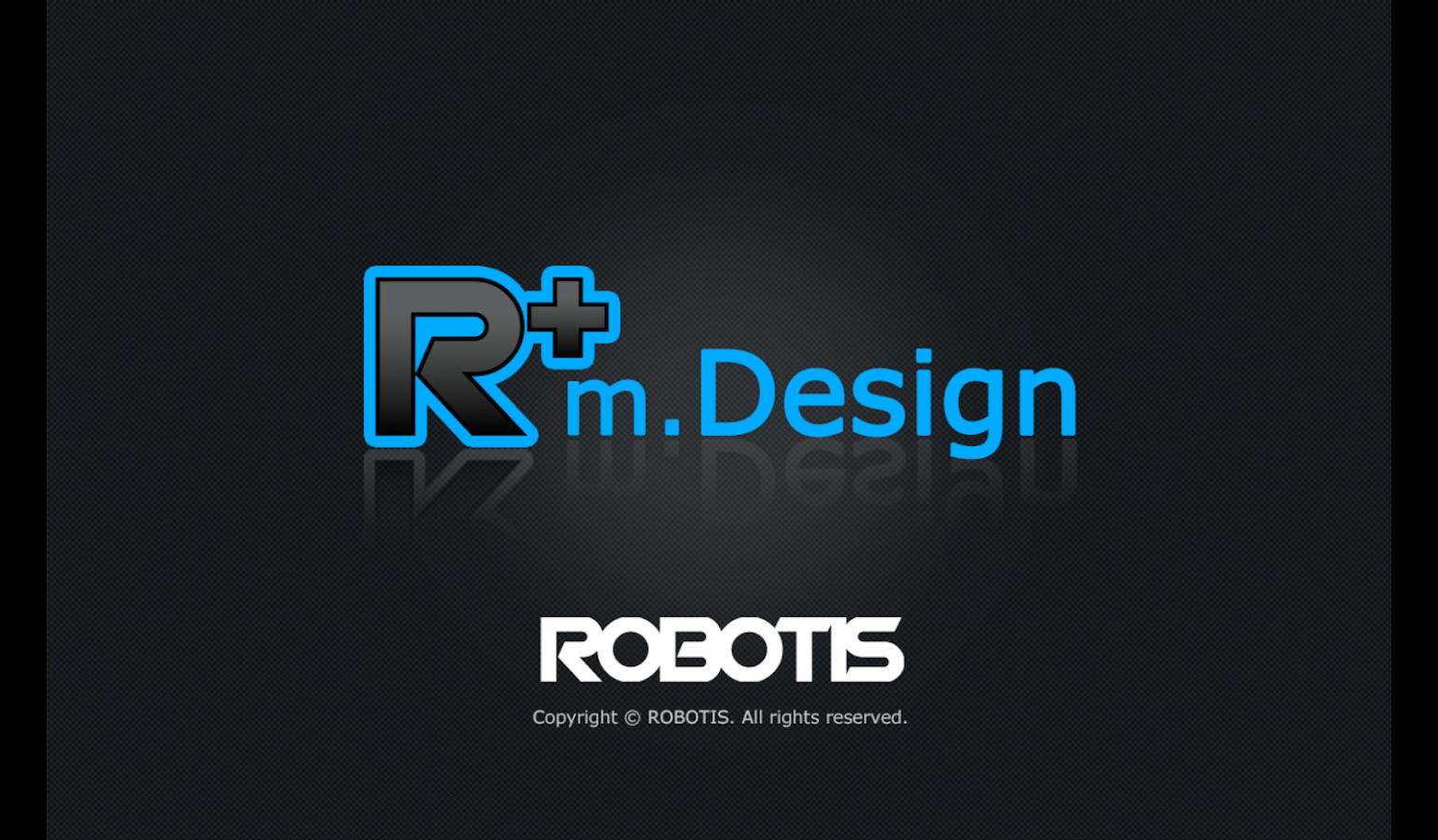 R+ m.Design (ROBOTIS)- screenshot