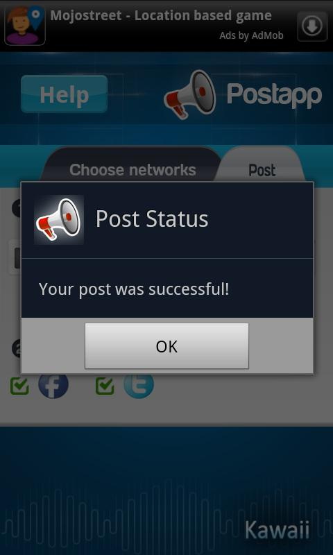 PostApp - screenshot