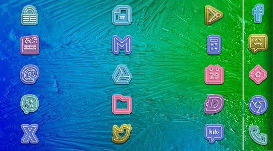 Lollipop Leek - icon pack v1.1