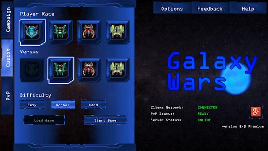 Galaxy War: Star Colony Wars screenshot