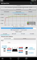 Screenshot of WiFi Speed Test