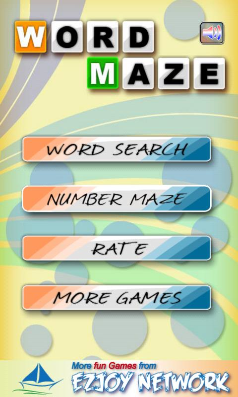 Word Maze- screenshot