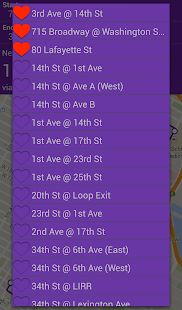 NYU Bus Tracker- screenshot thumbnail