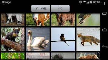 Screenshot of Zvuky slovenských zvierat