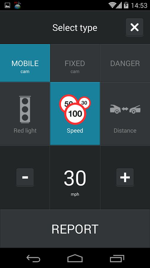 Speed Camera Alerts - CamSam - screenshot