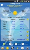 Screenshot of Güneş Vakti