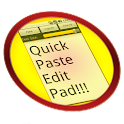 Quick Paste Edit Pad logo