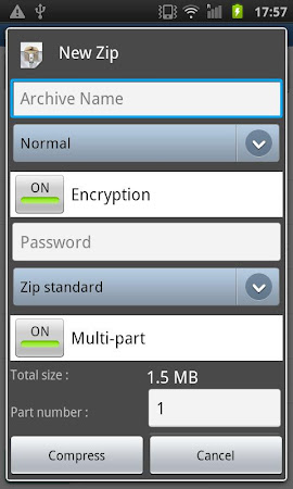 Easy Unrar, Unzip & Zip 3.4 screenshot 236652
