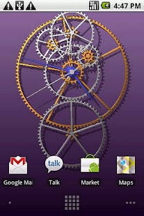 Clockwork Live Wallpaper- screenshot thumbnail