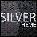 Silver  ADW Theme logo