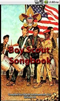 Screenshot of The Boy Scout Songbook
