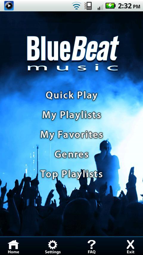 BlueBeat- screenshot