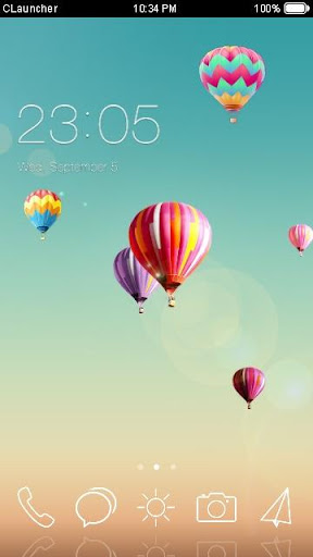 Hope Balloons C Launcher Theme