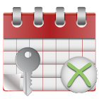 Leave Calendar Key icon