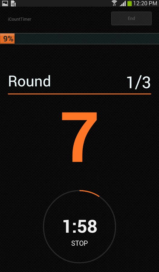 iCountTimer Pro - screenshot