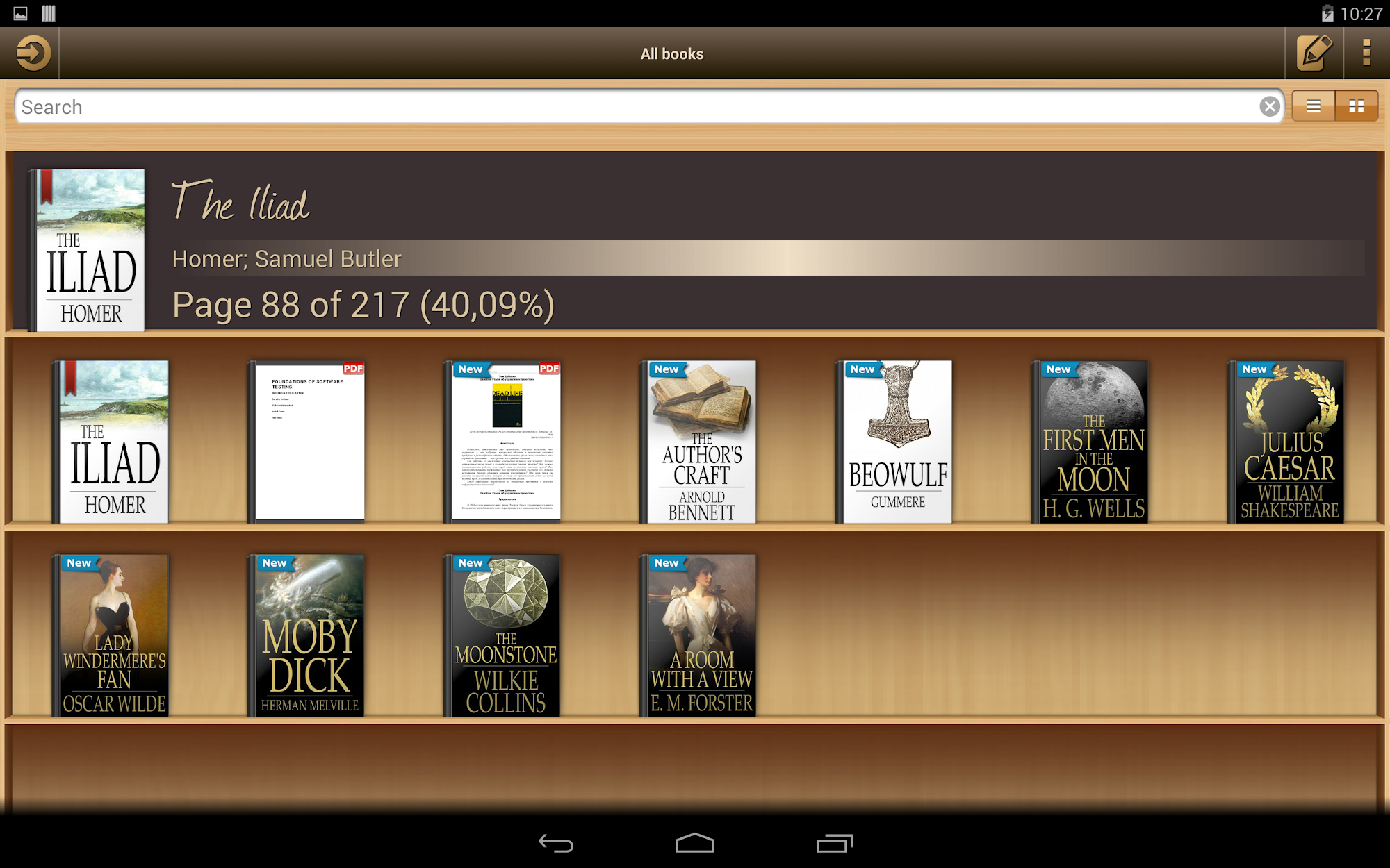 Ebook Reader screenshot #7