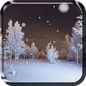 Winter Forest Live Wallpaper icon
