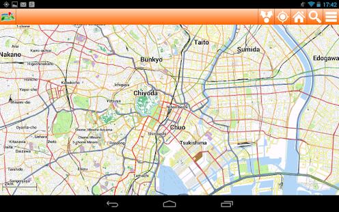 Tokyo Offline mappa Map