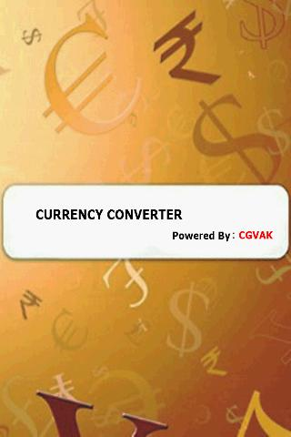 CGVAK Currency Converter