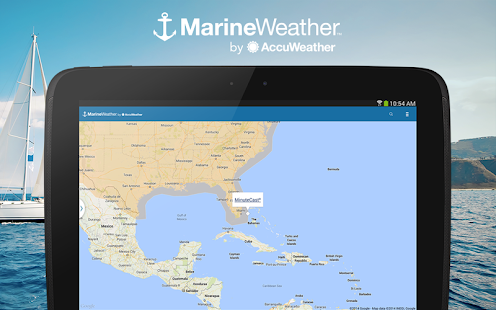 Marine Weather by AccuWeather-skjermdump – miniatyrbilde