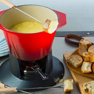 Almond Cheese Fondue