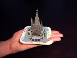 Screenshot of Sagrada Familia AR 3D