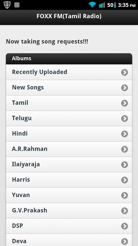 FOXX Tamil Radio - screenshot
