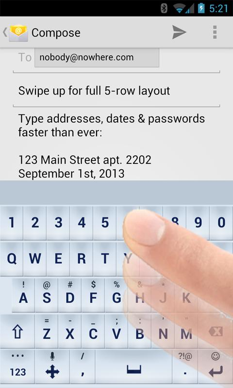 TypeSmart 2.0 Keyboard - screenshot